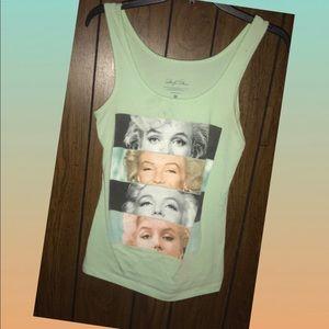 Marilyn Monroe tank top!